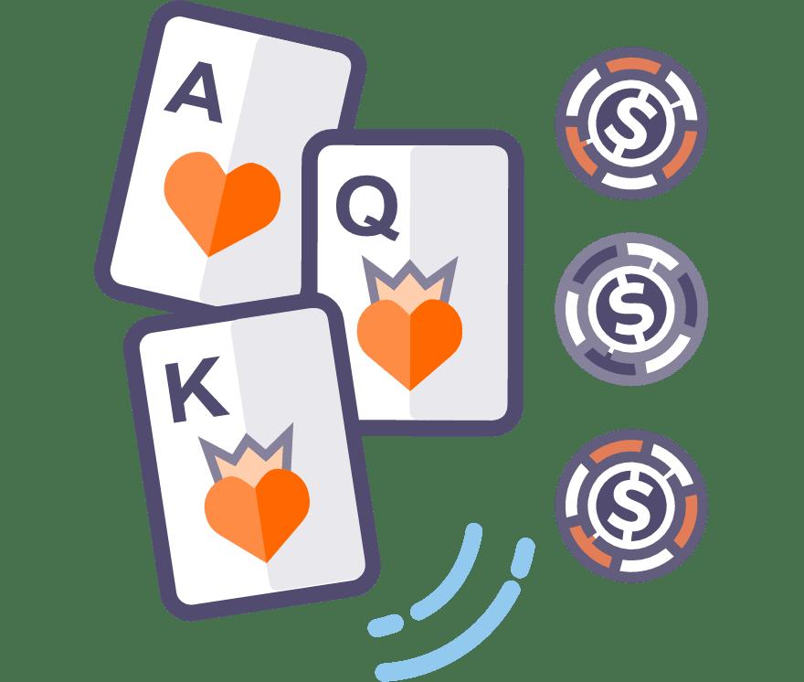 Играйте в трехкарточный покер в реальном времени