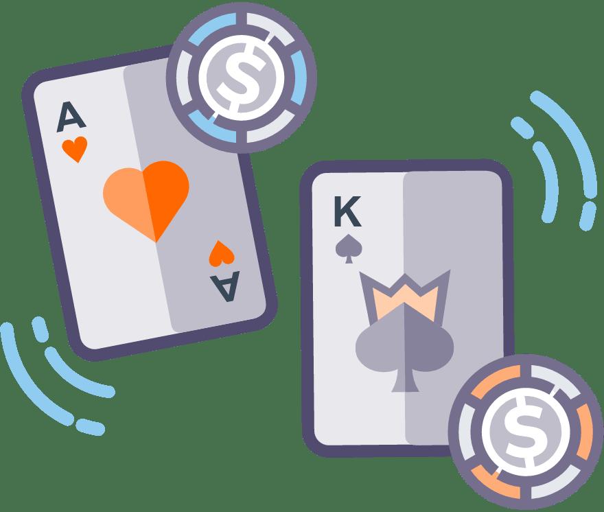 Лучшие Реальное Казино в которых есть Casino War в 2021 году
